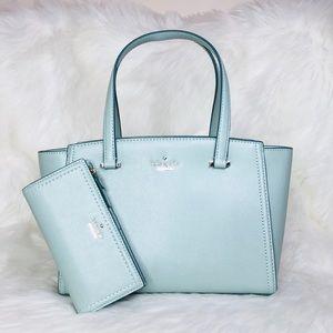 Kate Spade Small Geraldine Satchel Wallet Set